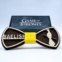 Эксклюзивный галстук-бабочка из дерева KRAGO Game of Thrones Baelish KRG-01009, КОД: 187155