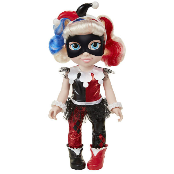 DC Super Hero Girls кукла малышка Харли Квин супергерой DC Harley Quinn Toddler Doll