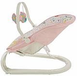 Fisher-Price Детский шезлонг кресло-качалка обезьянка Comfort Curve Bouncer Tiny Tea Time, фото 8