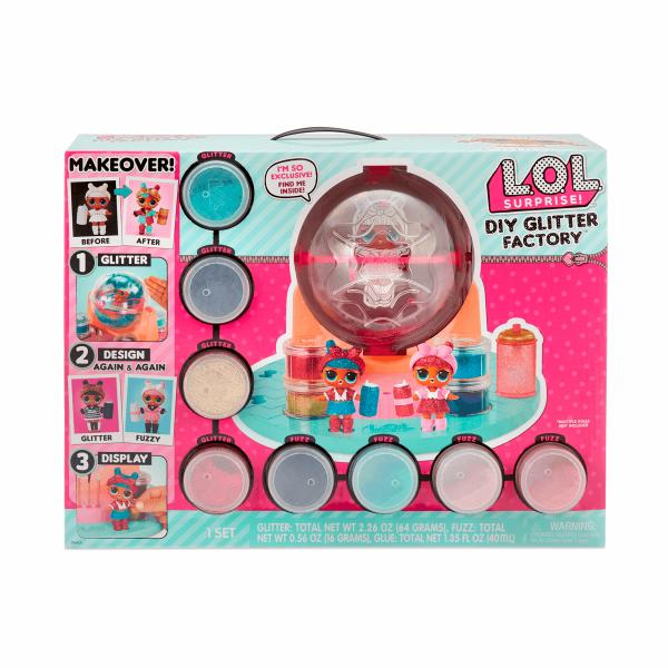 L.O.L. Surprise! Фабрика Волшебства для создания блестящей глитер ЛОЛ 556299 DIY Glitter Factory