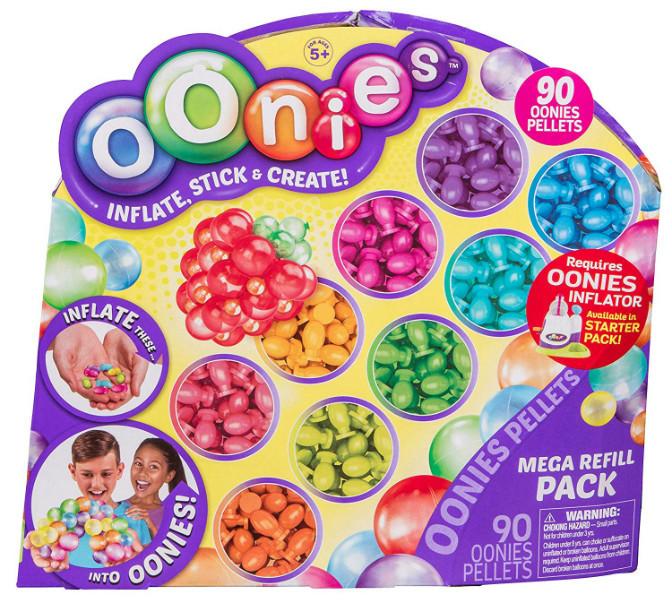 Moose Oonies S1 Набор для создания игрушек Mega Refill Pack