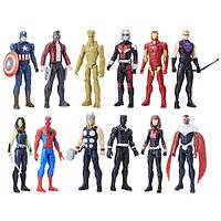 Avengers Titan Hero Мстители 12 героев в наборе Series 12 Pack Action Figures, фото 1