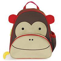 Skip Hop Zoo Рюкзак Обезьянка Monkey Kid Backpack School Bag, фото 1