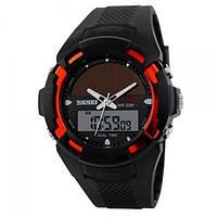 Часы Skmei 1056 Black-Red BOX 1056BOXBR, КОД: 116346