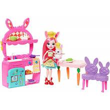 Enchantimals Набор кукла и кухня Бри Кроля Банни FRH47 Kitchen Fun Bree Bunny