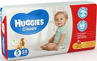 Подгузники HUGGIES классик (11-22кг.) №5 MEGO 58 шт