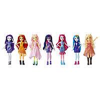 My Little Pony Equestria Girls девочки эквестрии набор из 7-ми кукол вечеринка Friendship Party Pack, фото 1