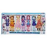 My Little Pony Equestria Girls девочки эквестрии набор из 7-ми кукол вечеринка Friendship Party Pack, фото 3