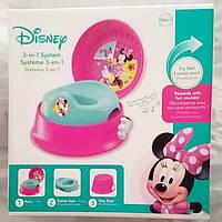 The First Years Мой первый горшок Минни Маус 3 в 1 Disney Minnie Mouse 3-In-1 Potty System