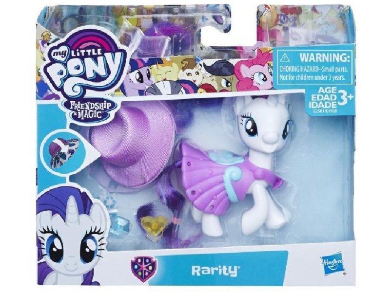 My Little Pony Рарити Волшебный сюрприз E2581 E1928 School of Friendship rarity