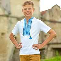 Вышитая футболка для мальчика