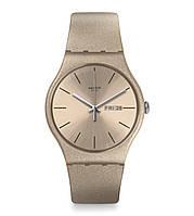 Жіночий годинник Swatch suop704 Бежевий, КОД: 1291116