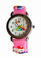 Часы детские Hello Kitty HK-186 Розовые, КОД: 112028