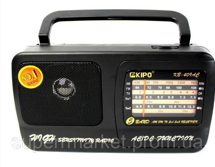 Радио всеволновое KIPO KB-409AC