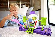 Трек Хот Вилс Веселый дом Джокера Hot Wheels DC The Joker Playset, фото 9