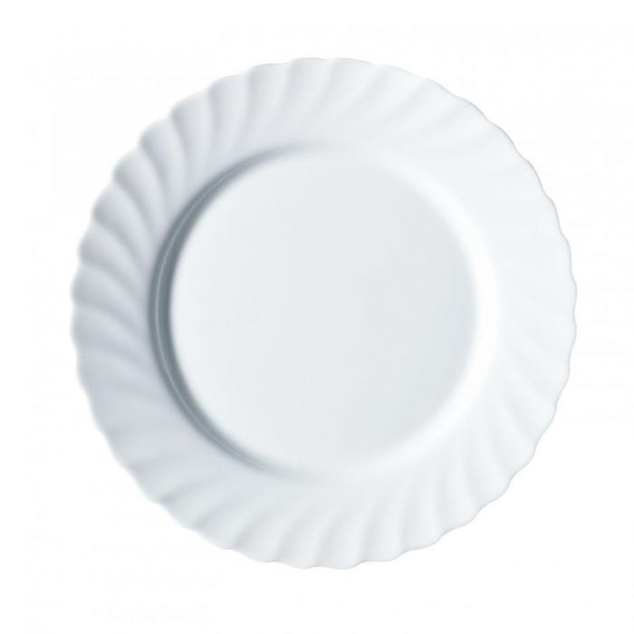 Обеденная тарелка Trianon d=25 см LUMINARC N3645/61259