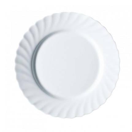 Обеденная тарелка Trianon d=25 см LUMINARC N3645/61259, фото 2