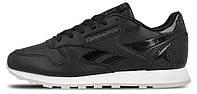 """Оригинальные кроссовки Reebok Classic Leather L """"Pearl-Black"""" BD5806"""