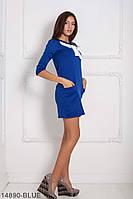 Стильне плаття-трапеція з м'якого французького трикотажу з кишенями Persian