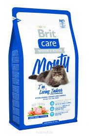 Brit Care Cat Monty Indoor для Кошек, Живущих в Помещении 2 кг