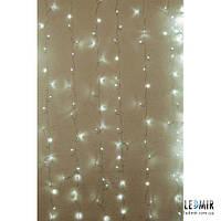 Светодиодная гирлянда Pheenecs занавес (curtain), белая холодная (320L-Curtain-W)