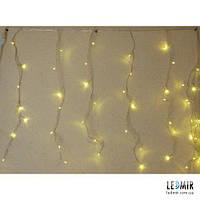 Светодиодная гирлянда Pheenecs занавес (curtain), белая теплая, IP44 (180L-Curtain-WWF)