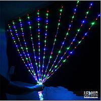 Светодиодная гирлянда Pheenecs занавес (curtain), многоцветная, IP44 (360L-Curtain-Mix)