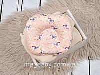 Подушка для новорожденных Классик, райские птички