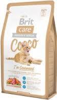 Brit Care Cat Cocco Gourmand Беззерновой для Кошек-Гурманов 2 кг