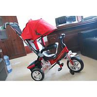 Детский Трехколесный велосипед  Lexx  Trike  колесо пластик EVA QAT-017(СИНИЙ.БЕЛЫЙ)