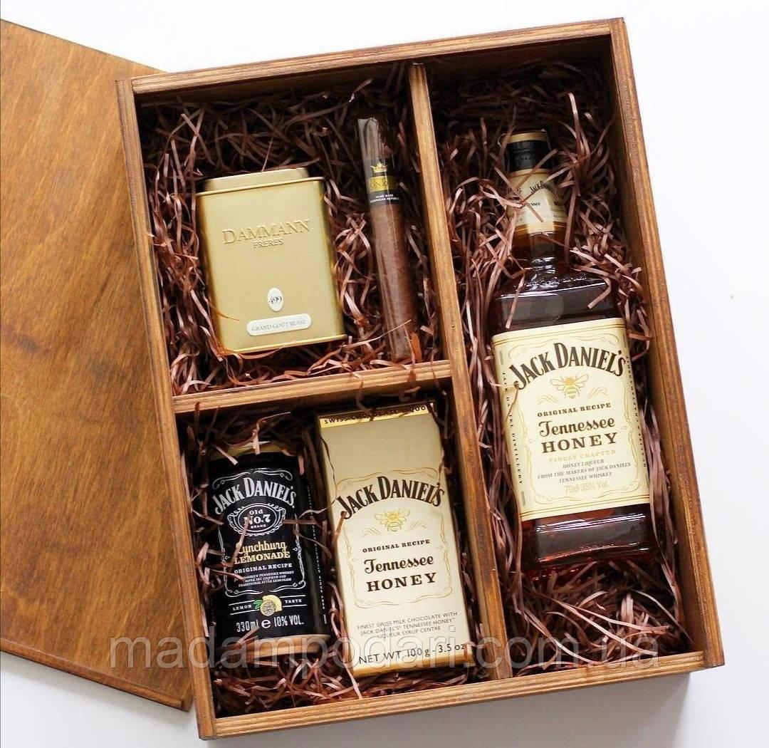 Набор с виски Джек Дениелс