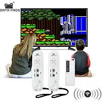 АКЦИЯ! Игровая беспроводная консоль Data Frog Y2 USB 620 игр Денди 8bit ТВ ОРИГИНАЛ!