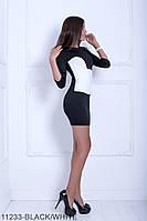 Оригінальна приталені молодіжне плаття-міні з французького трикотажу Fritillary