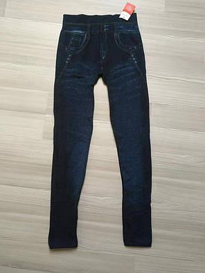 Женские джинсовые лосины на меху ТМ CASTOM Арт.15120, фото 2