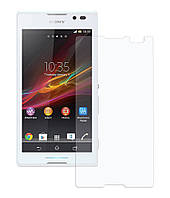 Защитное стекло Premium Tempered Glass 0.26mm (2.5D) для Sony Xperia C C2305 S39H