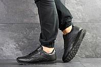 Мужские кроссовки черные Reebok Classic 8114