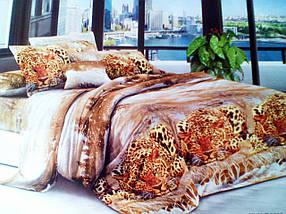 Комплект постельного белья от украинского производителя Polycotton Двуспальный T-90932, фото 3