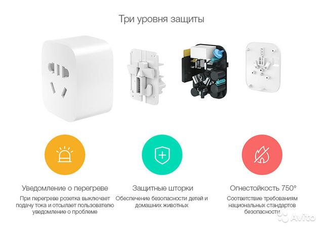 Умная WiFi розетка Xiaomi Mijia Smart Socket 2 ZNCZ04CM