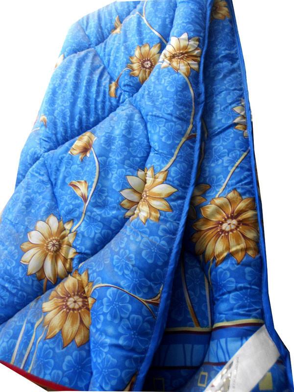Одеяло летнее холлофайбер одинарное (поликоттон) Двуспальное T-51169