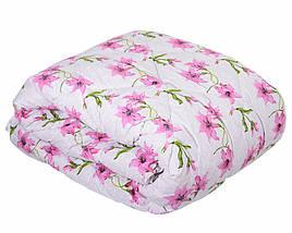 Одеяло летнее холлофайбер одинарное (поликоттон) Двуспальное T-51169, фото 3