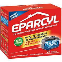 """Биопорошок для выгребных ям """"Эпарсил"""", 24 шт, Eparcyl, Thetford, Франция"""