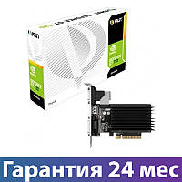 Видеокарта GeForce GT730, Palit, 2 Гб DDR3, 64-bit (NEAT7300HD46-2080H), відеокарта