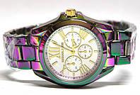 Часы на браслете mk радуга 2