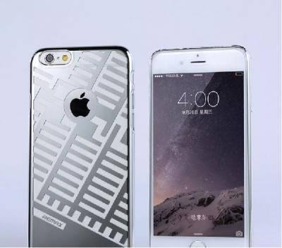 Пластиковый чехол Maze Series iPhone 6 серебро REMAX 600402, фото 2