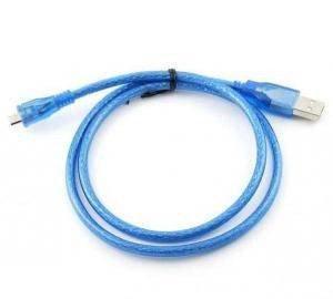 Переходник USB->microUSB 2.0, без ферритов 0.8м, АM - micro BM Gresso GR0.8AMBMNF