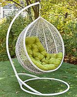 Подвесное кресло кокон из ротанга Веста