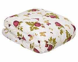 Одеяло ОТКРЫТОЕ овечья шерсть (Поликоттон) Двуспальное #1017, фото 2