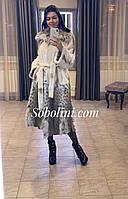 Примерка шубы в Харькове  с мехом рыси, размер 48/50