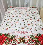 Скатерть новогодняя  2,2м*1,5м, фото 3