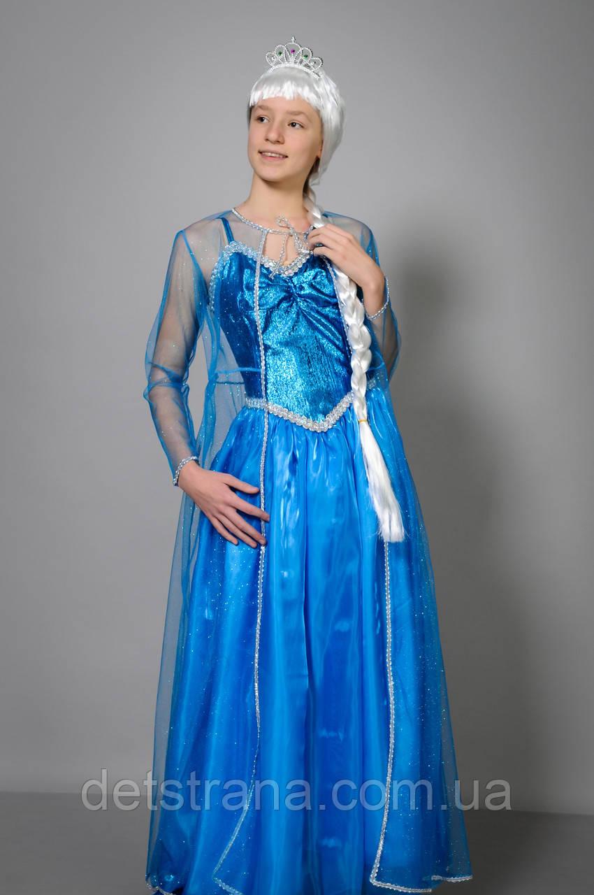 Детский карнавальный костюм принцесса Эльза
